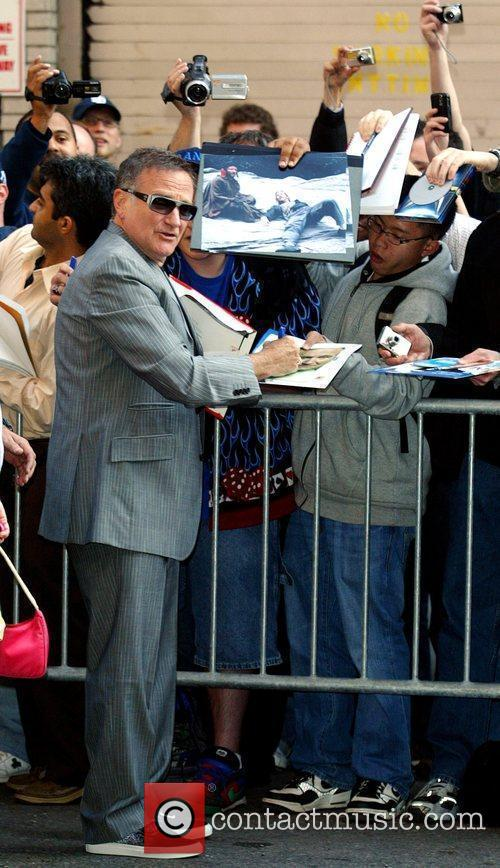 Robin Williams and David Letterman 16