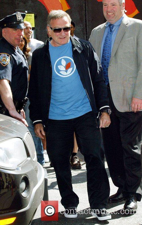 Robin Williams and David Letterman 14