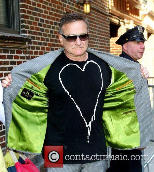 Robin Williams and David Letterman 17