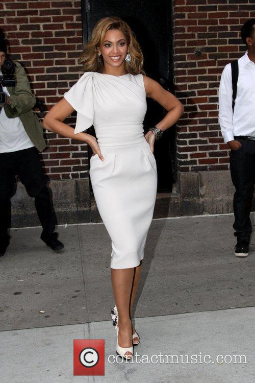 Beyonce Knowles and David Letterman 5