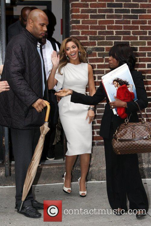 Beyonce Knowles and David Letterman 9