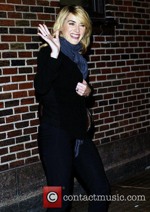 Kate Winslet and David Letterman 10