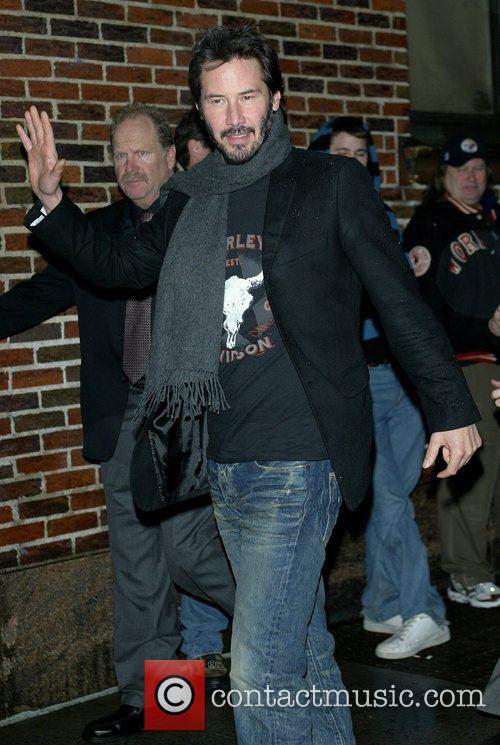 Keanu Reeves and David Letterman 4
