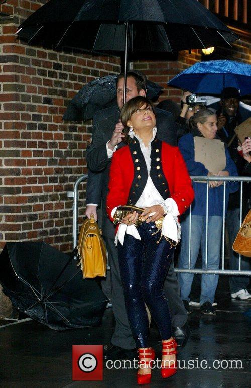 Paula Abdul and David Letterman 13
