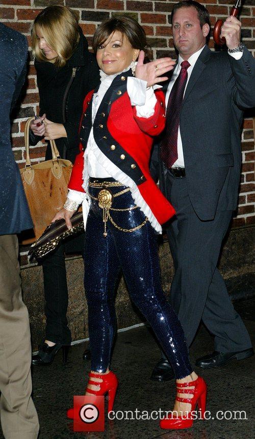 Paula Abdul and David Letterman 16