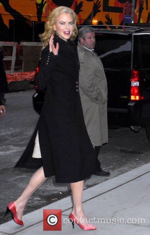 Nicole Kidman and David Letterman 6