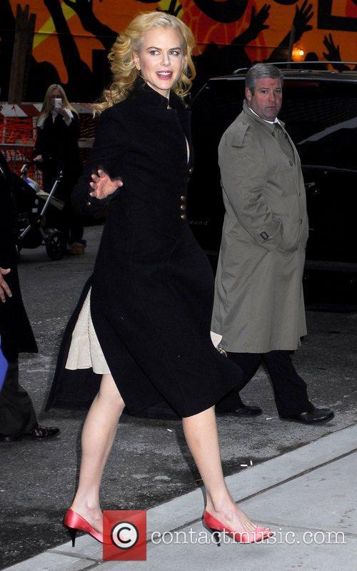 Nicole Kidman and David Letterman 7