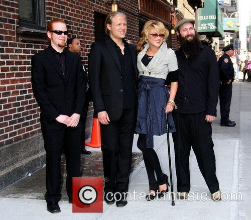 Melody Gardot and David Letterman 3