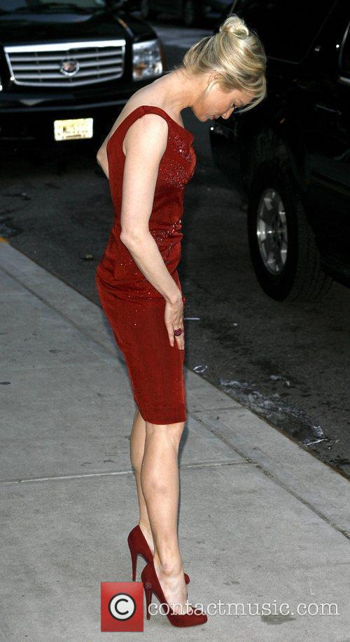 Renee Zellweger and David Letterman 18