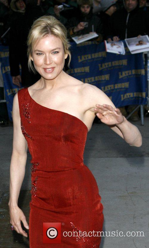 Renee Zellweger and David Letterman 19