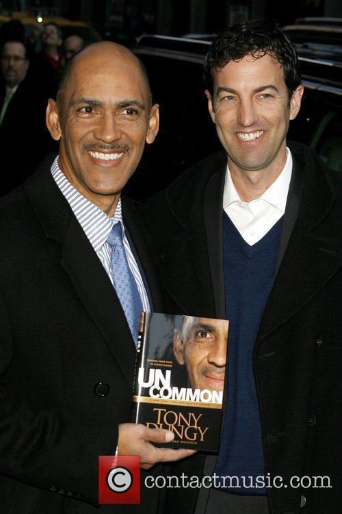 Tony Dungy and David Letterman 2