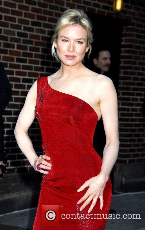 Renee Zellweger and David Letterman 20