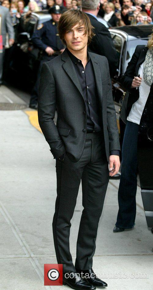 Zac Efron and David Letterman 22