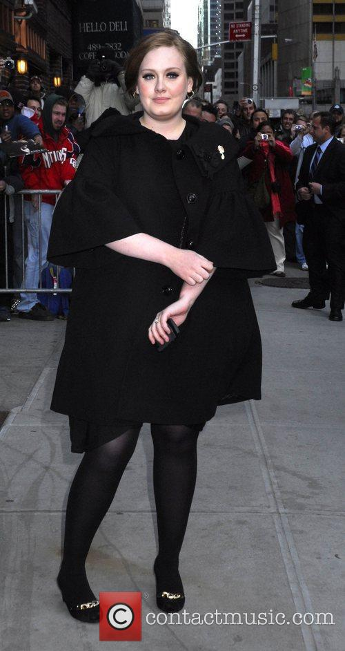 Adele and David Letterman 10