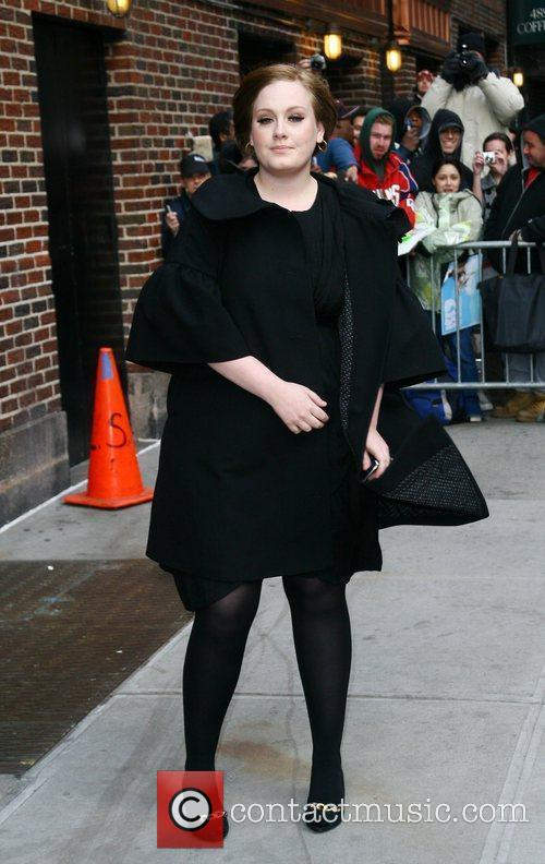 Adele and David Letterman 3