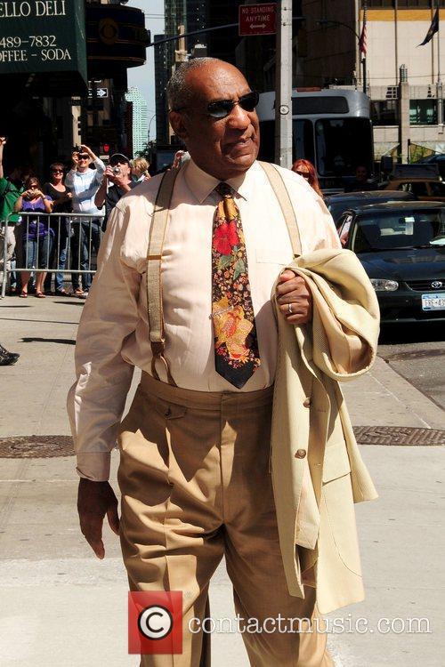 Bill Cosby and David Letterman 6