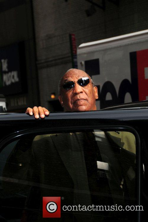 Bill Cosby and David Letterman 8