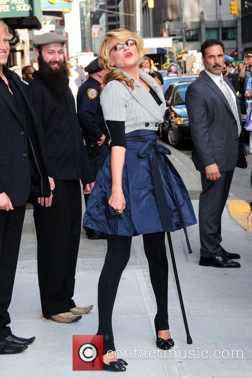 Melody Gardot and David Letterman