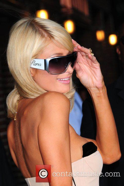 Paris Hilton and David Letterman 29