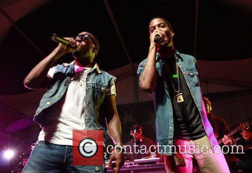 Kid Cudi and Kanye West 3