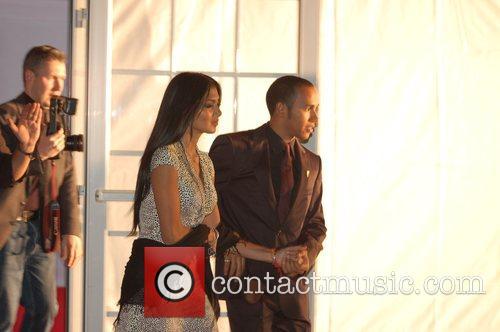 Nicole Scherzinger and Lewis Hamilton 1