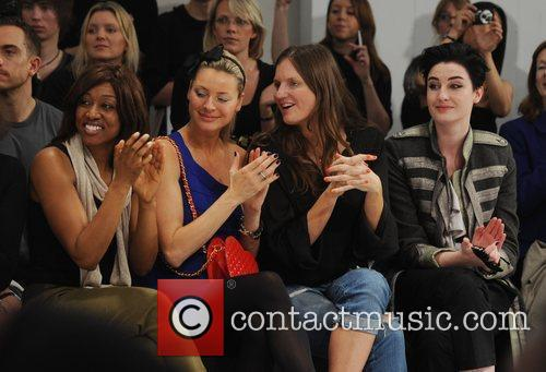 Beverley Knight, Tess Daly, Camilla Johnson-Hill and Erin...