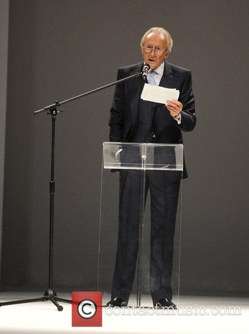 Speaks at the launch of London Fashion Week...