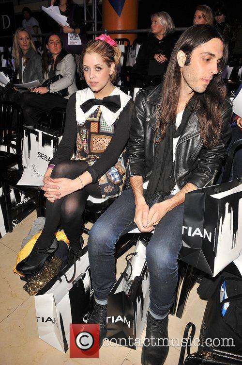 Peaches Geldof and Blake Wood London Fashion Week...