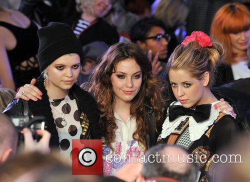 Pixie Geldof and Peaches Geldof London Fashion Week...