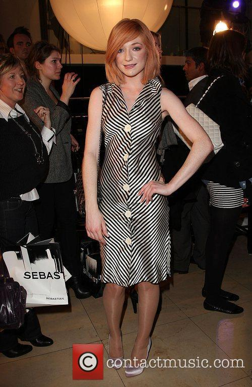 Nicola Roberts London Fashion Week Autumn/Winter 2009 -...