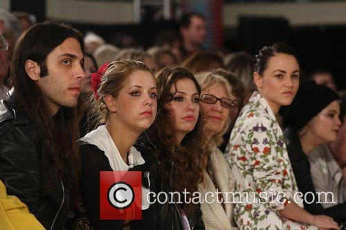 Blake Wood, Peaches Geldof, Jaime Winstone London Fashion...
