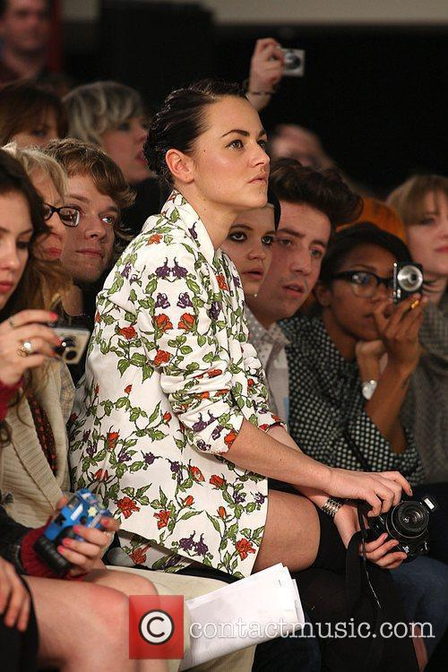 Jaime Winstone, Pixie Geldof, Nick Grimshaw London Fashion...