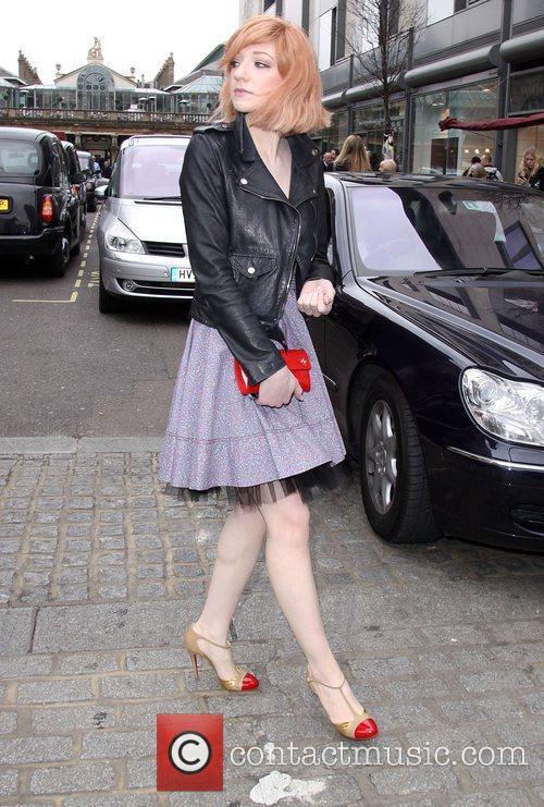 London Fashion Week Autumn/Winter 2009 - Luella- Outside...