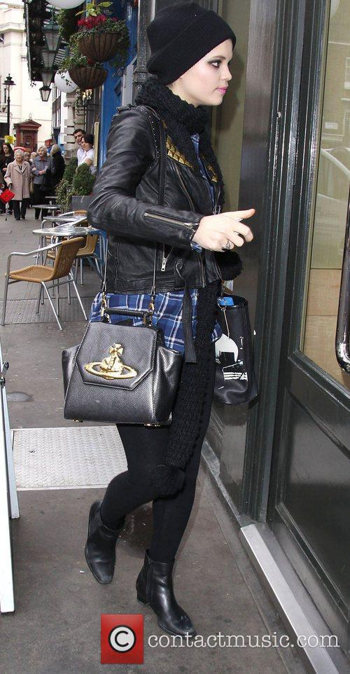 London Fashion Week Autumn/Winter 2009 - Luella- Outside...
