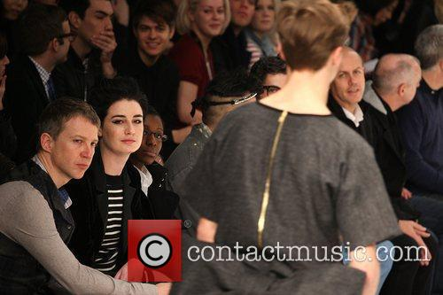 Jefferson Hack and Erin O'Connor London Fashion Week...