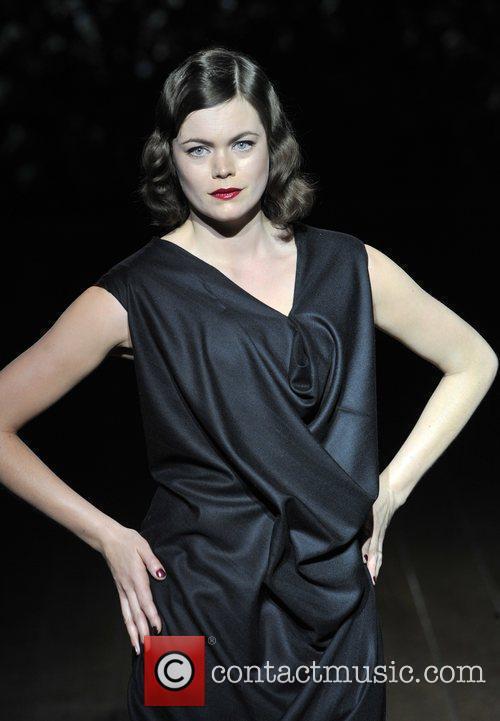 Jasmine Guinness London Fashion Week Autumn/Winter 2009 -...