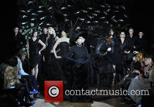 Models London Fashion Week Autumn/Winter 2009 - Qasimi-...