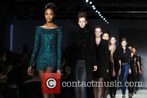 London Fashion Week Autumn/Winter 2009 - Twenty8Twelve- Catwalk