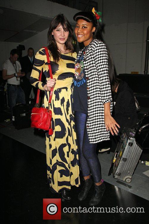 Daisy Lowe and VV Brown London Fashion Week...