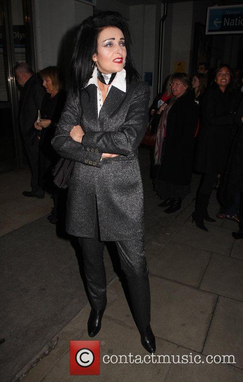 Susan Ballion AKA Siouxsie Sioux London Fashion Week...