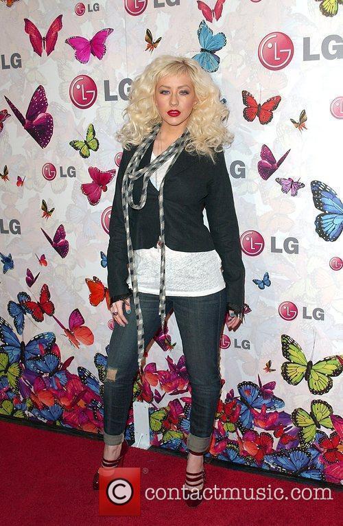 Christina Aguilera and Heidi Klum 5