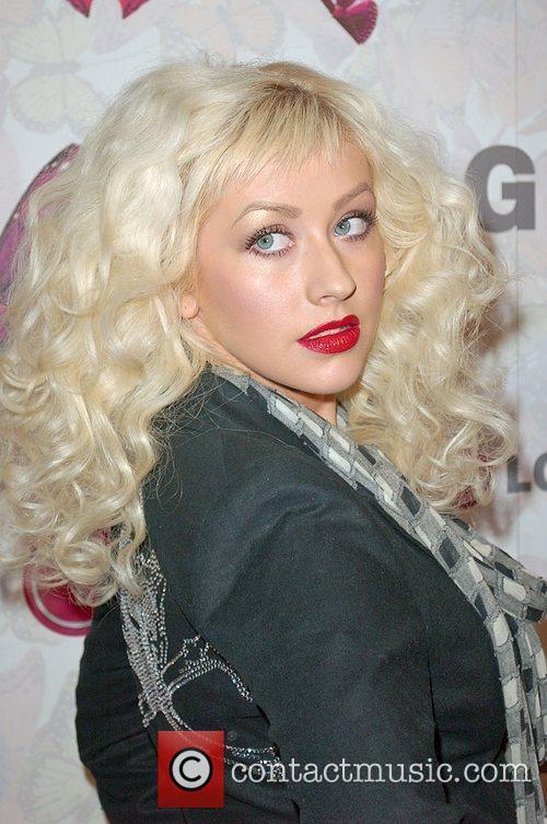 Christina Aguilera and Heidi Klum 4