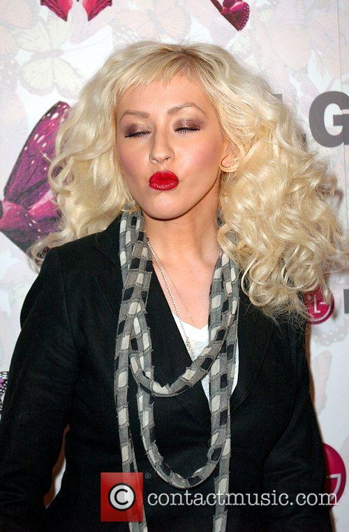 Christina Aguilera and Heidi Klum 1