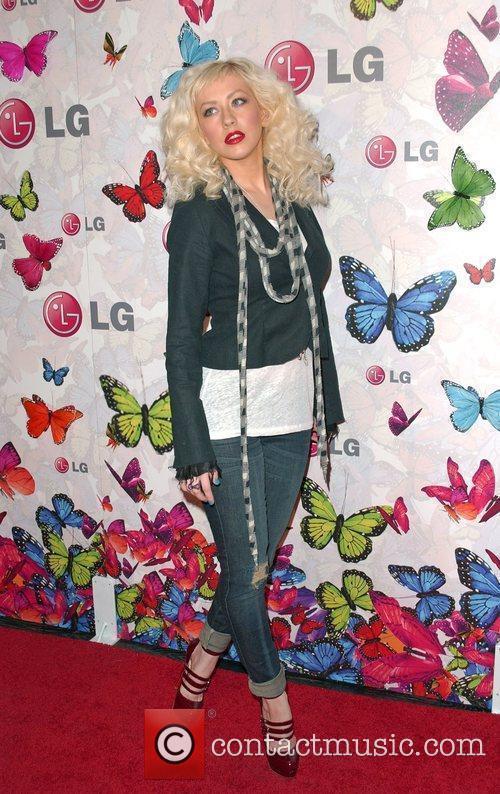 Christina Aguilera and Heidi Klum 2