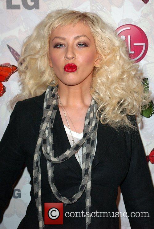 Christina Aguilera and Heidi Klum 3