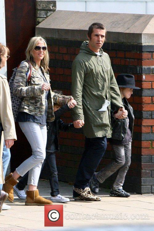 Liam Gallagher and Nicole Appleton 5