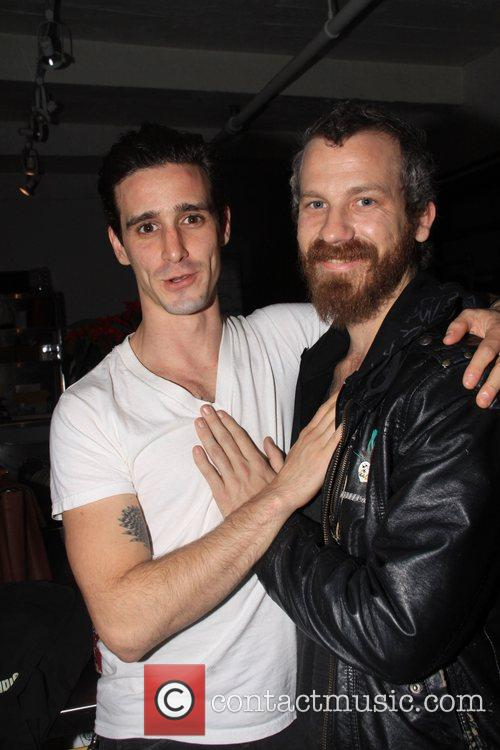 James Ransone and guest Libertine sample sale New...