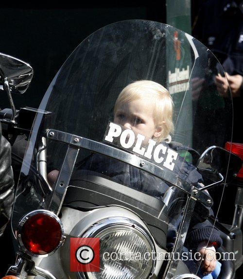 Liev Schreiber's son Alexander Shreiber on a police...