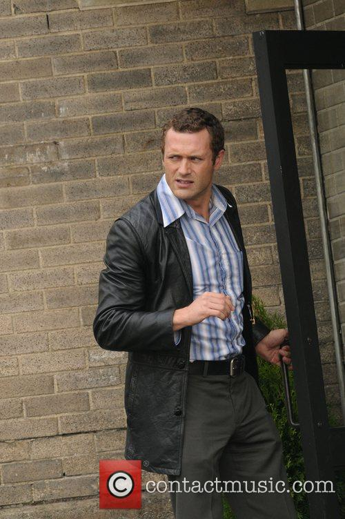 Jason O'Mara on the set of 'Life On...