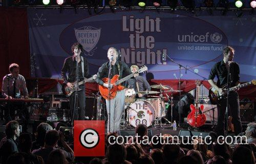 Performs at UNICEF's 'Light The Night' Christmas lighting...